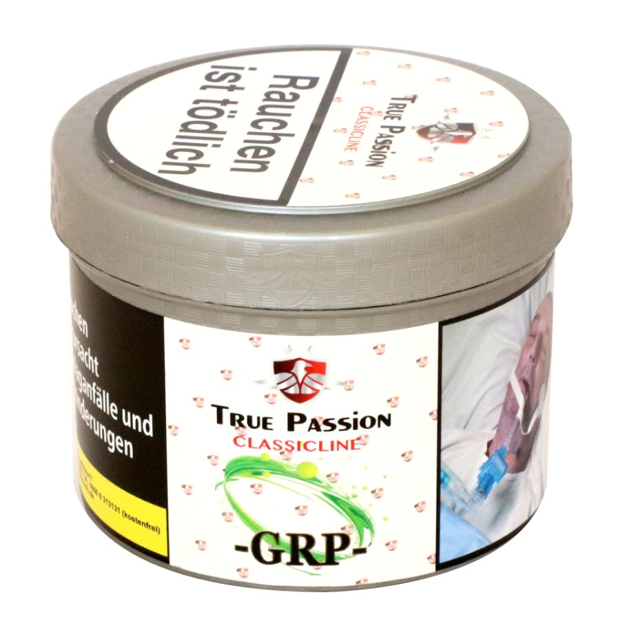 Shisha Tabak kaufen GRP 200g - True Passion Classicline