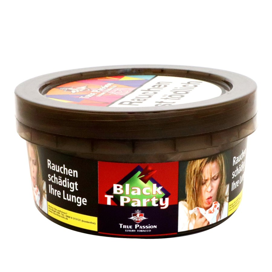 Shisha Tabak kaufen Black T Party 1000g von True Passion
