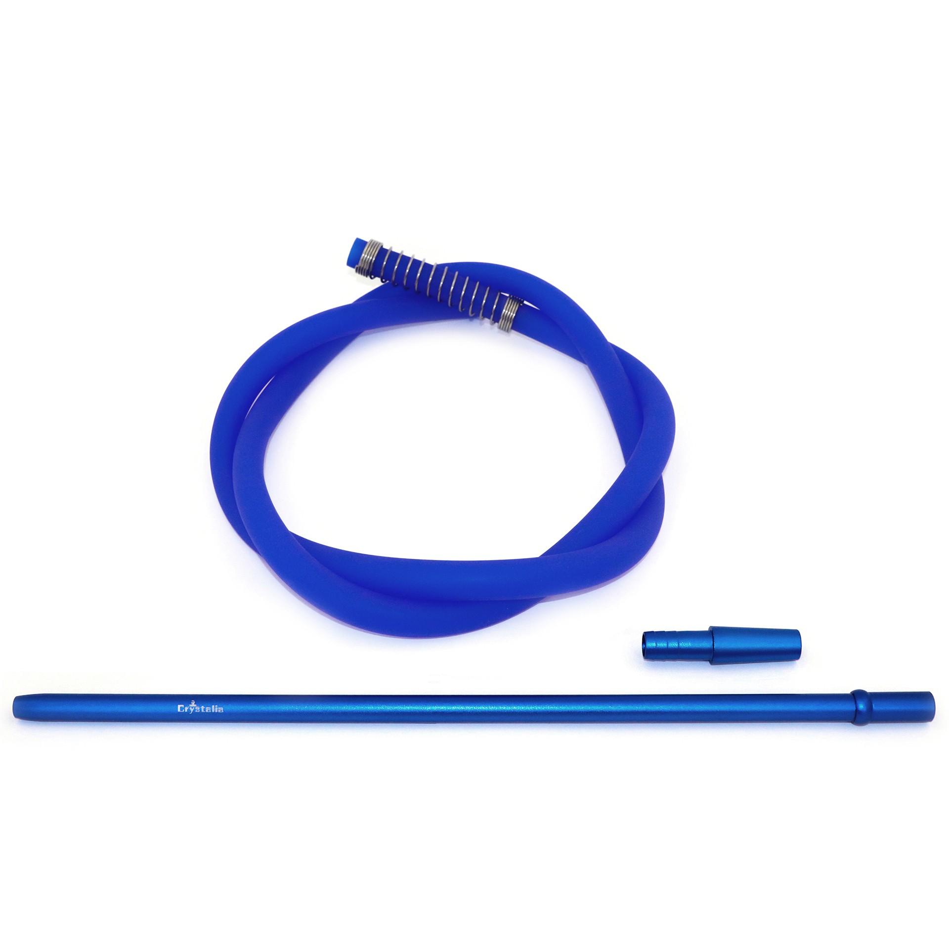 Crystalia Silikonschlauch Set - blau