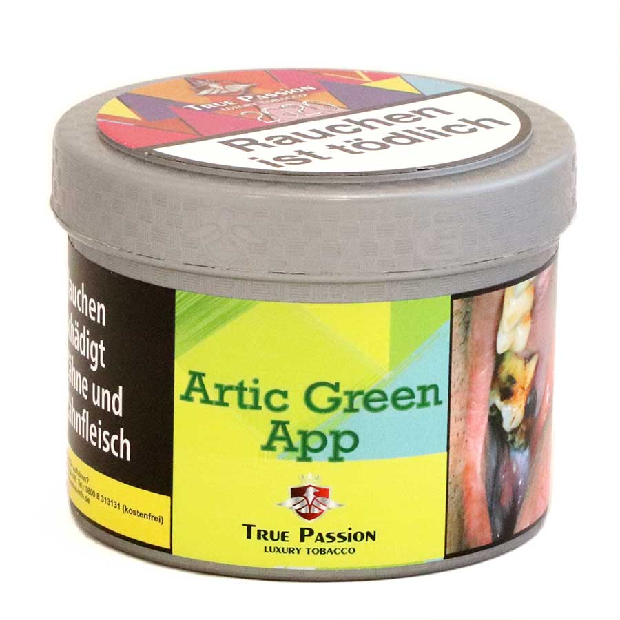 Shisha Tabak kaufen True Passion Artic Green App
