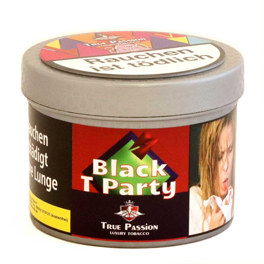 Shisha Tabak kaufen Black T Party 20g von True Passion
